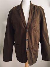 "Jack Wills Mens Khaki Green Jacket 40"" Coat Cotton"