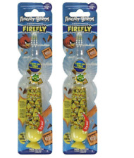 2 Pack - Firefly Toothbrush Angry Birds Flashing 1 Min Timer(Assorted)