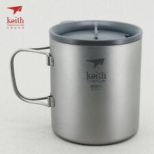 Keith Titanium Ti3356 Double-Wall Mug - 20.3 fl oz (Shipped from USA)