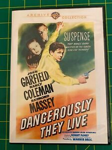 Dangerously They Live, 1942 (DVD) John Garfield, Nancy Coleman, Raymond Massey