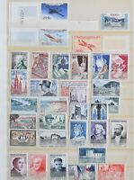 France 1954 Collection Anne 1954 include Air Mail set all MNH Very high value S1