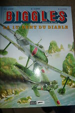 BD biggles n°9 la 13ieme dent du diable EO 1997 TBE loutte aviation RAF