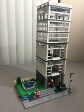 LEGO Custom white MOC Modular Building City Train set 10182 10185 10211 10224