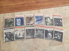 Complete 1936 Year Of Scientific American Magazines