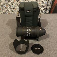 Sigma 50-500mm 1:4-6.3 APO Camera Lens  For Pentax W/ Hood & Caps