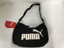 Puma Angel Handbag 064565 10 Black-Whisper white