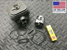 Replacement cylinder piston Stihl TS410 TS420 50mm gaskets NGK plug