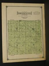 Minnesota Redwood County Map Brookville Township  1914    W3#62