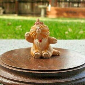 Hallmark Merry Miniature 1987 Taffi Purrrsonality Cat