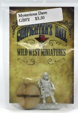 Knuckleduster GBF2 Gunfighter's Ball Mysterious Dave Old West Gambler Lawman NIB