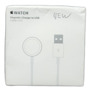 Apple Watch Magnetic Charger to USB A2255 New Open Box