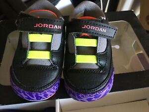 Jordan 3 Retro  (GP)sz 2C Crib Shoe And  Hat