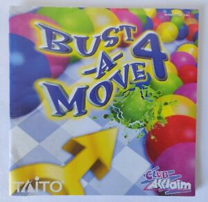 Sega Dreamcast Manual Only - Bust-A-Move 4