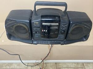 Vintage FISHER PH-D380 Stereo High Fidelity Boombox Dual Cassette CD Player Rare