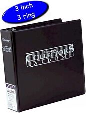Ultra Pro Collectors Album/Binder 3 Inch 3 Ring Black