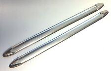 2 St. Moulure Chrome Pour Harley Davidson ® 400 mm Lg-Valise, revêtement u.a