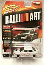 Johnny Lightning RalliArt 2004 Mitsubishi Lancer Evolution 1/64 Model Chase Car