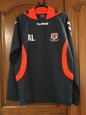 Hummel Blue And Orange Sports Sweatshirt Potters Bar FC Size M