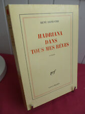HADRIANA DANS TOUS MES REVES  Rene Depestre Gallimard