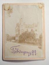 Tübingen - Wingolf - Haus Wingolfhaus Verbindungshaus - 1899 - KAB / Studentika