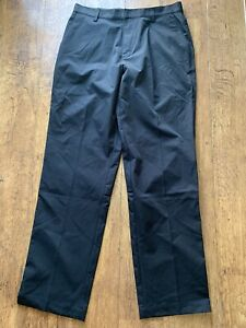 NWT Adidas Flat FrontStretch Climacool Vented Golf Pants Mens 32x32 Black