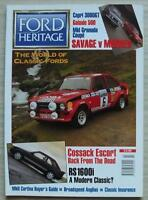 FORD HERITAGE Car Magazine Spring 1995 ISSUE 9  Capri 3000GT  BROADSPEED ANGLIAS