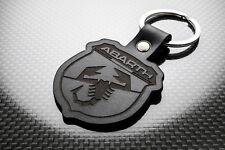 Fiat Abarth Cuero KEYRING LLAVERO SCHLÜSSELRING Porte-clés 500 595 Araña 695