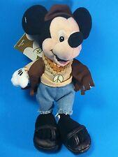 "The Disney Store - Mini Bean Bag Plush - Hippy Mickey - 8"""