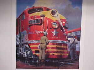 "Railroad Art, Winfield,""Washing Miss Katy"" 24X18"" s/n C-2005(5306)"