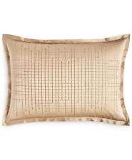 Hotel Collection Deco Embroidery King Pillow Sham Matte / Gold $135
