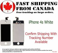 LCD Replacement Assembly For iPhone 4S Digitizer Display LCD Touch Screen White