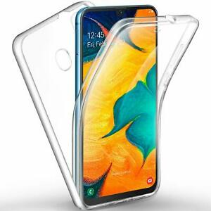 360 FRONT + BACK shockproof Full Body TPU Clear Gel Case Cover For SAMSUNG S8