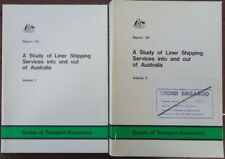 Study of Liner Shipping Services Into & Out of Australia - Vol. 1+2, Softcovers