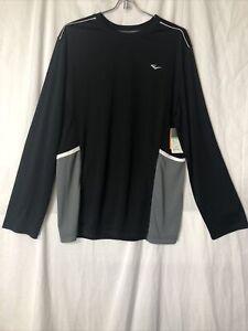 Everlast Boys Long Sleeve Pieced Sports Shirt Black Onyx Size XL (18-20) NEW