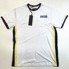 Akoo mens 100% AUTHENTIC Crewneck T-SHIRT SIZE LARGE SS RARE NEW NICE