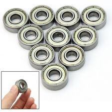 Kit 10 Cuscinetti a Sfera Sigillati Metallo 22mm x 8mm x 7mm Riparazione ex1l
