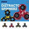 NCAA College 3 Three Way Printed Diztracto Fidget Hand Spinner