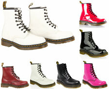 Dr. Martens Patent Leather Casual Boots for Women