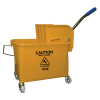 Central Exclusive 2Y 21 Qt. Compact Mopping System Combo, Yellow