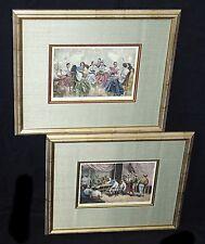 2x Prints Palais du Sultan de Soulou & Salon du Negociant Chinois Narcisso (SsFh