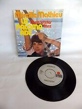 vinyle 45 tours Mireille Mathieu La Paloma ADE 45t vintage audio