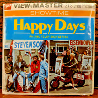 Happy Days The Not-Making of the President Sealed 1974 View Master Showtime