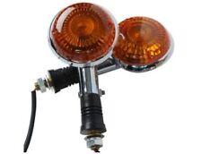 Pair Amber Lens For Yamaha Turn Signals  Front / Rear Indicator Winker Blinker