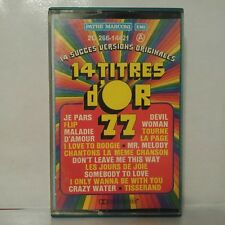 Compilation - 14 titres d'or 77 (Cassette Audio - K7 - Tape)