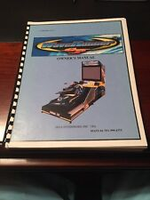 Sega Waverunner GP Arcade Game Owners Manual Wave Runner