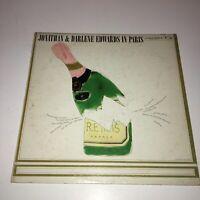 JONATHAN & DARLENE EDWARDS IN PARIS - VINYL LP RECORD - CL 1513 COLUMBIA RECORDS