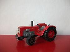 majorette 1/36 tracteur rouge incomplet
