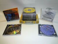 Lot of Small Box PC Games - Riven Myst Doom Heroes IV Forsaken 7th Guest