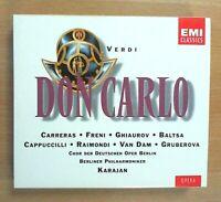 Giuseppe Verdi - Don Carlos (3 CDs, 1994)  (CDs ohne Gebrauchsspuren)