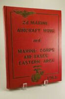 1961 2d Marine Aircraft Wing & Marine Corps Air Bases Eastern Area Yearbook
